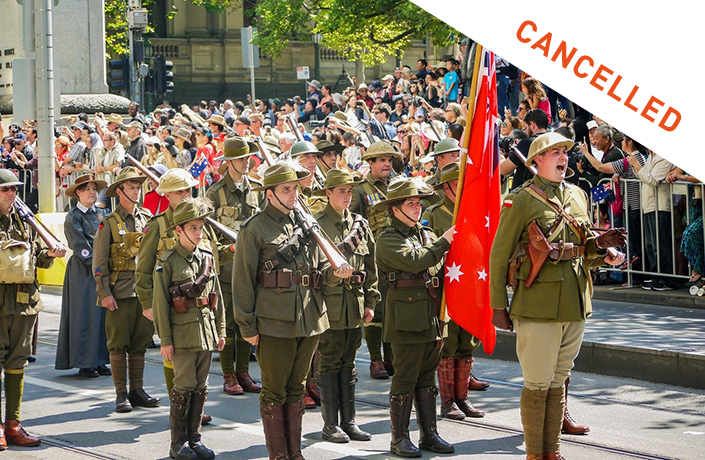 Anzac Day Events Cancelled